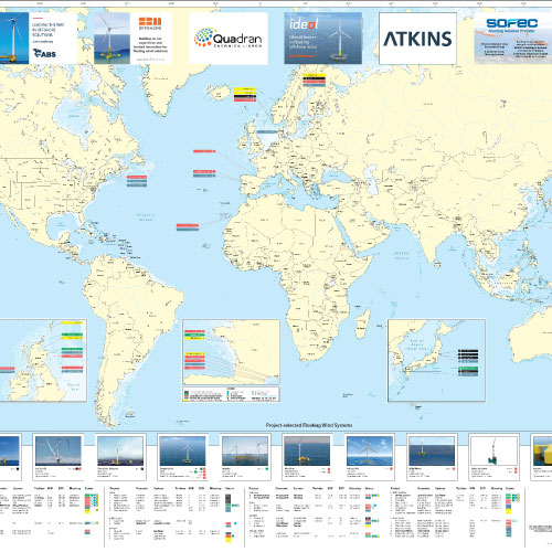 Quest Floating Wind Energy World Map Quest Offshore - Cheap world maps for sale